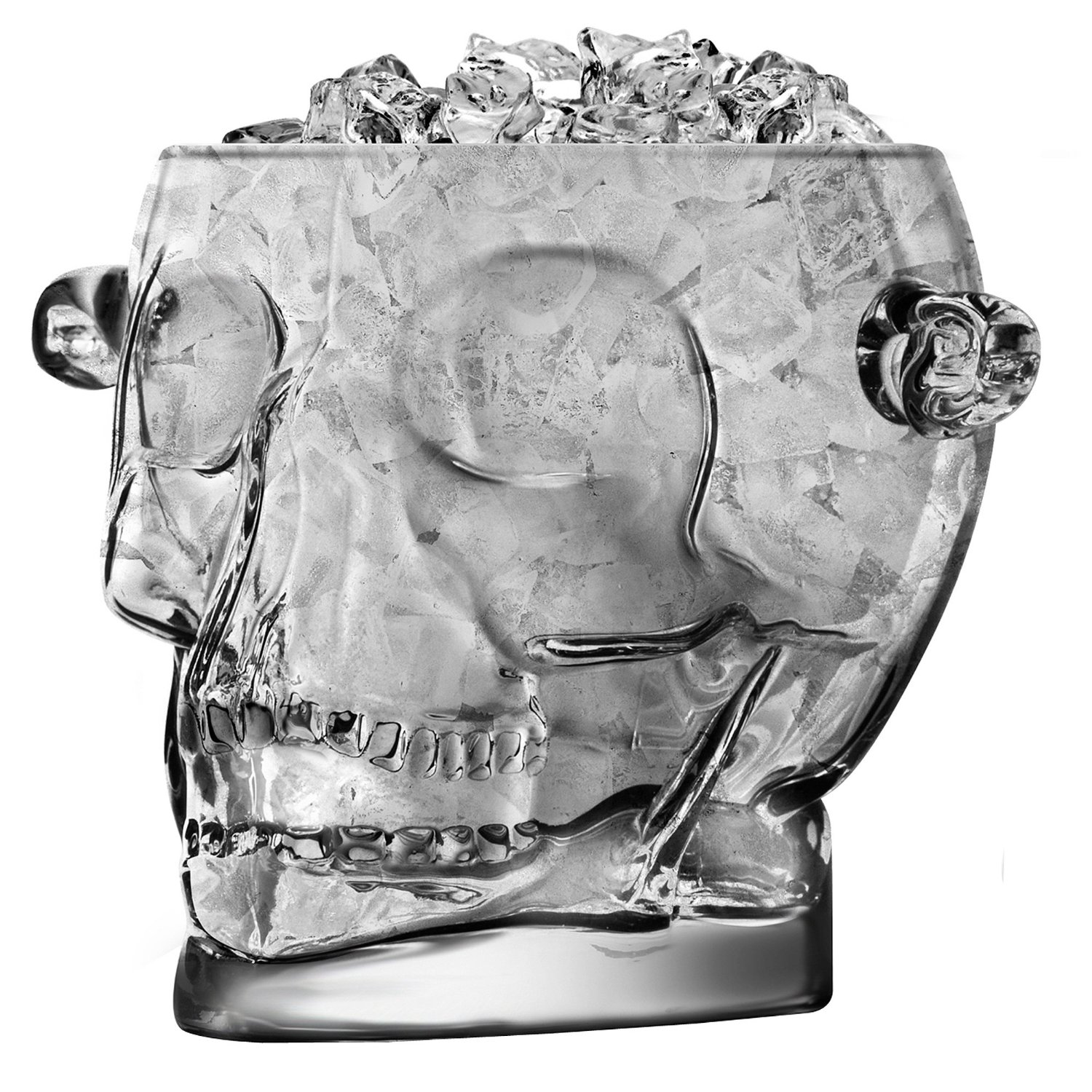 Brain Freeze Skull Ice Bucket