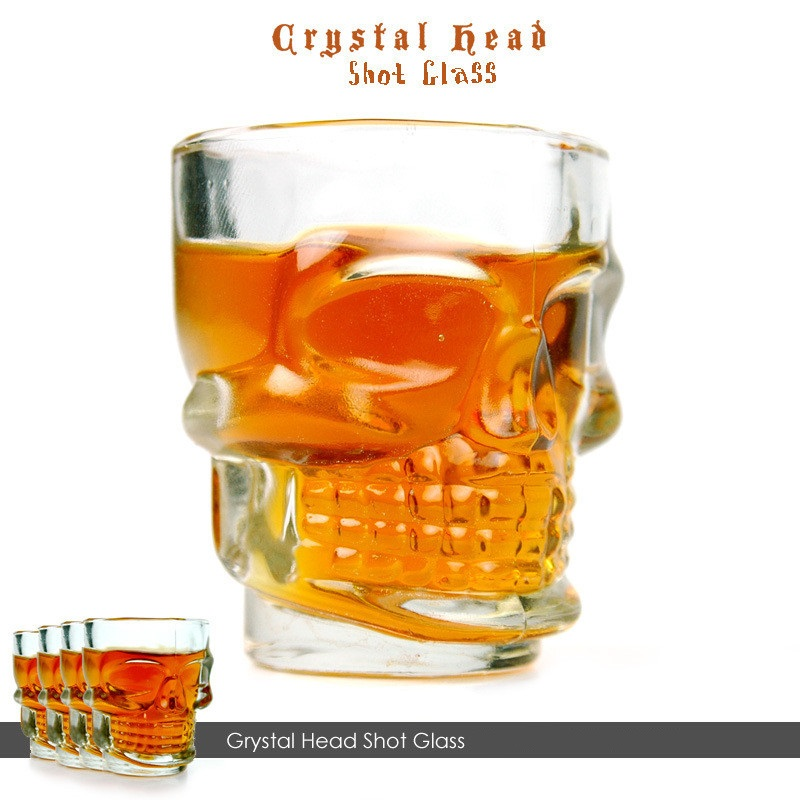 Crystal Head Skull Shot Glas