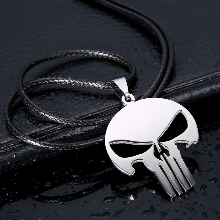 Punisher Skull Halsband